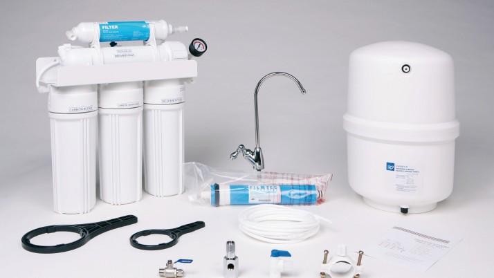 Instalación de filtro de Osmosis Profesional