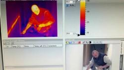 Localización de Humedades y Roturas por termografía