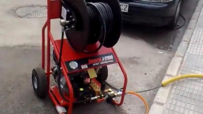 Desatasco de Agua con Máquina de Alta Presión en Alicante